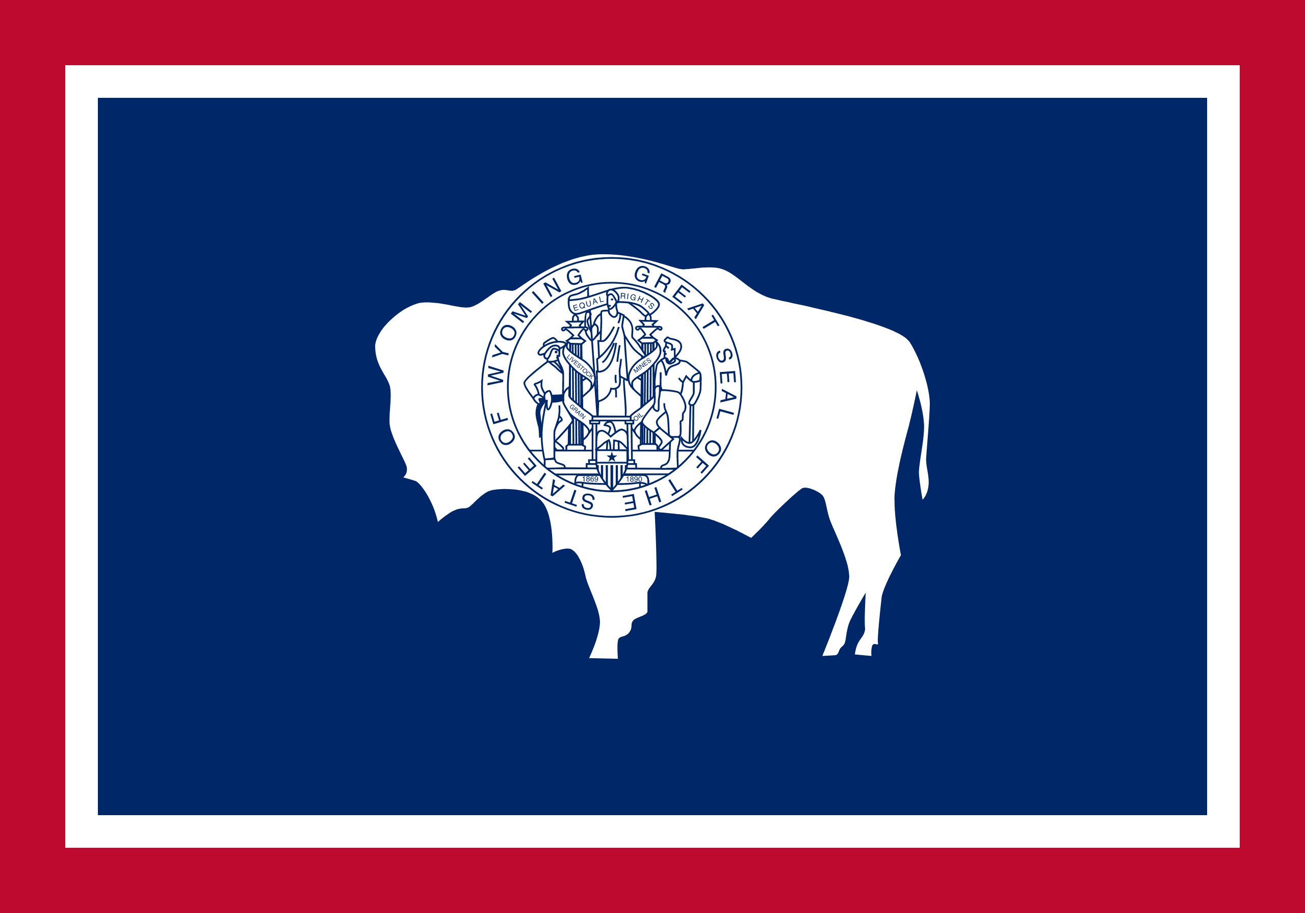 Wyoming License plate lookup